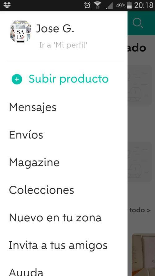Subir productos